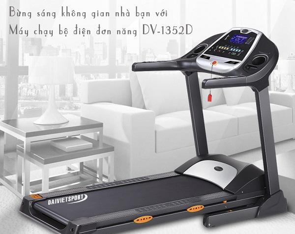 Máy chạy bộ điện đơn năng Đại Việt DV-1352D giá tốt