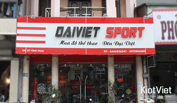 Đại Việt Sport giúp tư vấn mở cửa hàng thể thao
