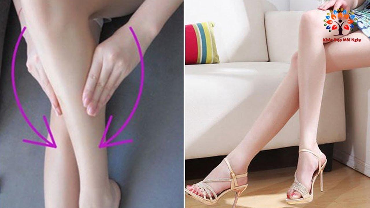 Lý do khiến đùi và bắp chân to là gì?
